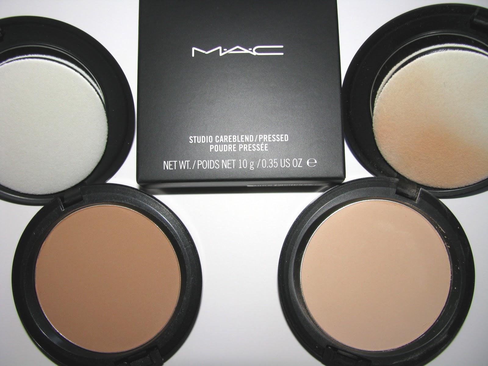 Beauty Blogs: MAC Studio Careblend Pressed Powder