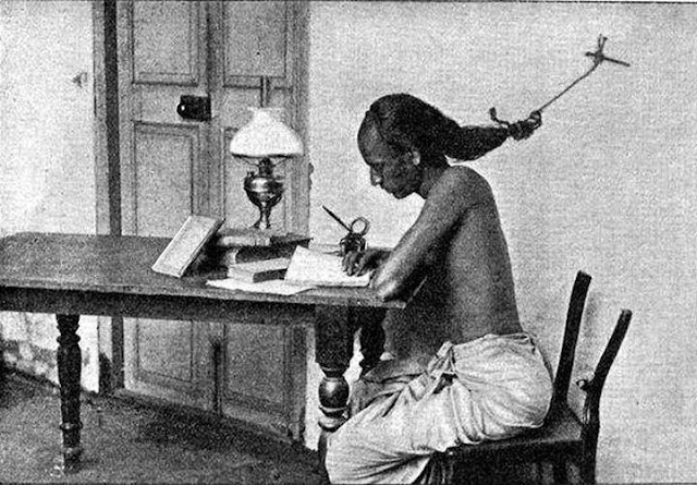 Student at the University of Madras, India-World Fact