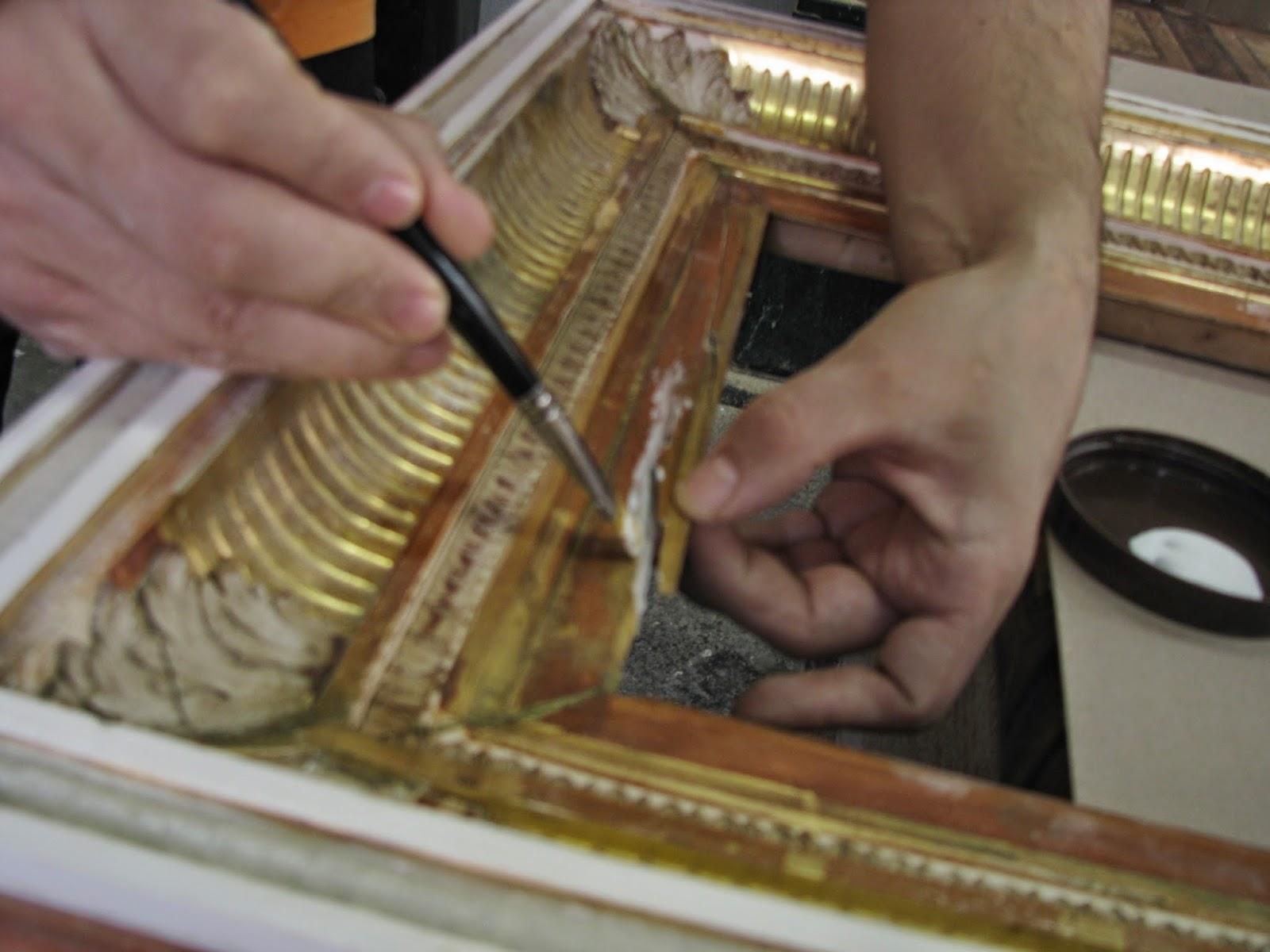 Restaurari rame antice cat costa restaurarea unei rame vechi for Cat costa intretinerea unei piscine