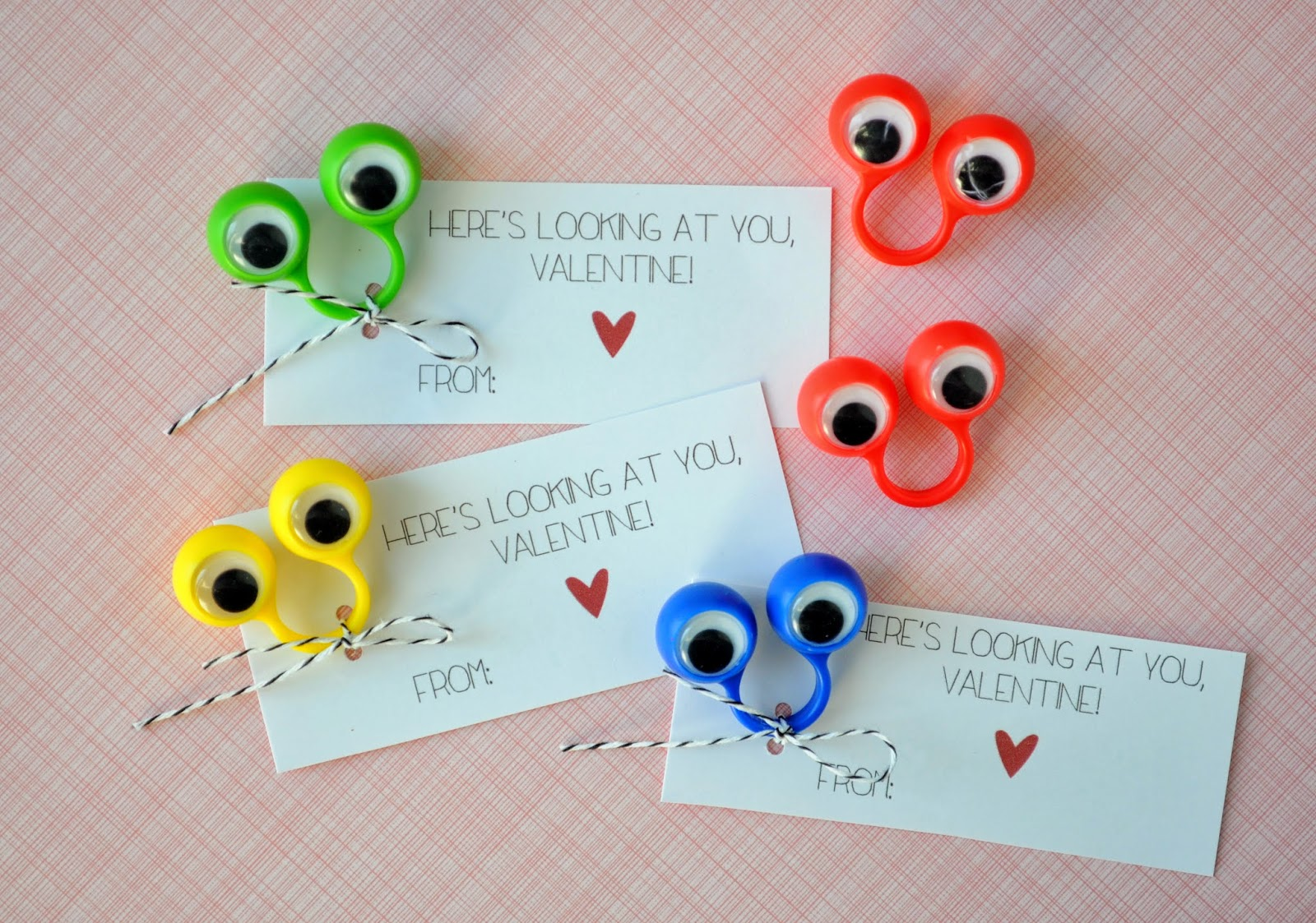 photograph about Printable Googly Eyes called heres seeking at oneself valentine! totally free printable