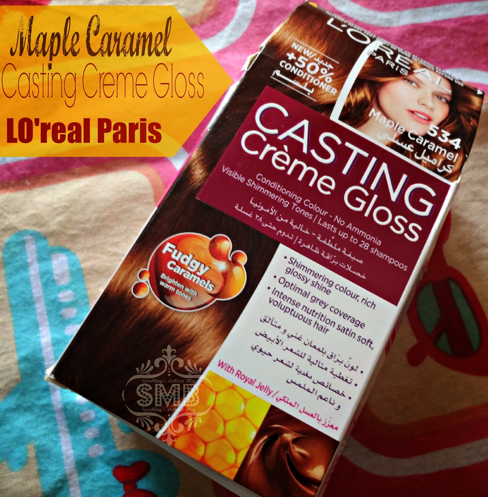 l oreal casting creme gloss instructions for use