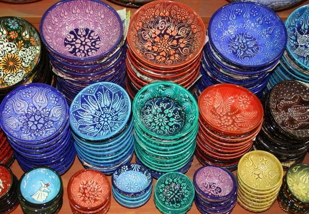 vajilla turca colores