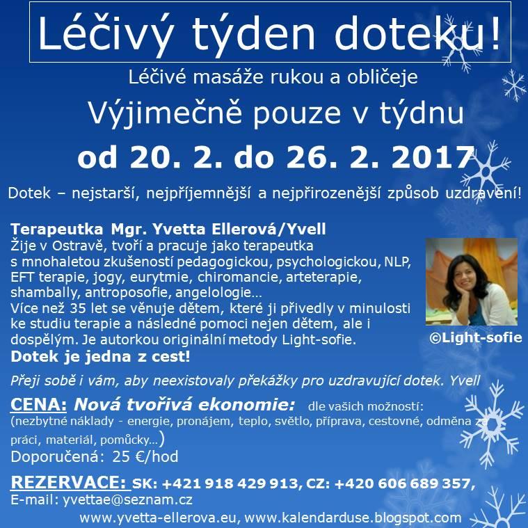 Léčivý týden doteku v Bratislavě