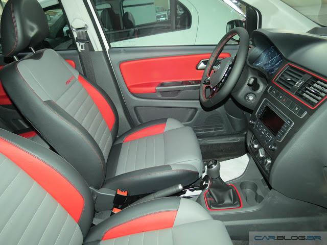 Volkswagen Fox 2016 Pepper - interior