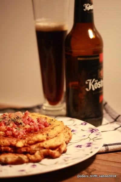 Pfannkuchen mit Köstritzer Schwarzbier