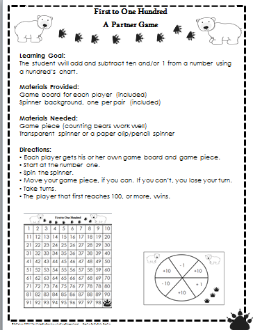 Place Value Center Activities First Grade - teaching with a ...