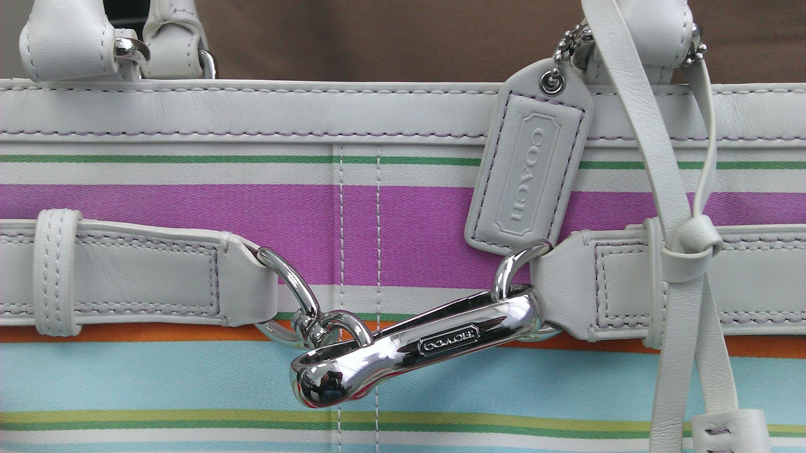 how to clean a fabric coach purse without coach cleaner