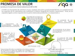 PROMESA DE VALOR