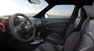 Nissan Juke Nismo (2013) Interior