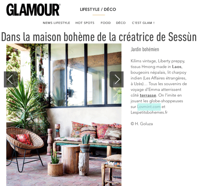 Glamour septembre 2015