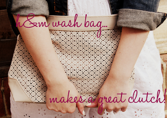 Use-a-large-wash-bag-as-a-clutch-bag
