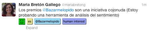 analisis de sentimiento en español