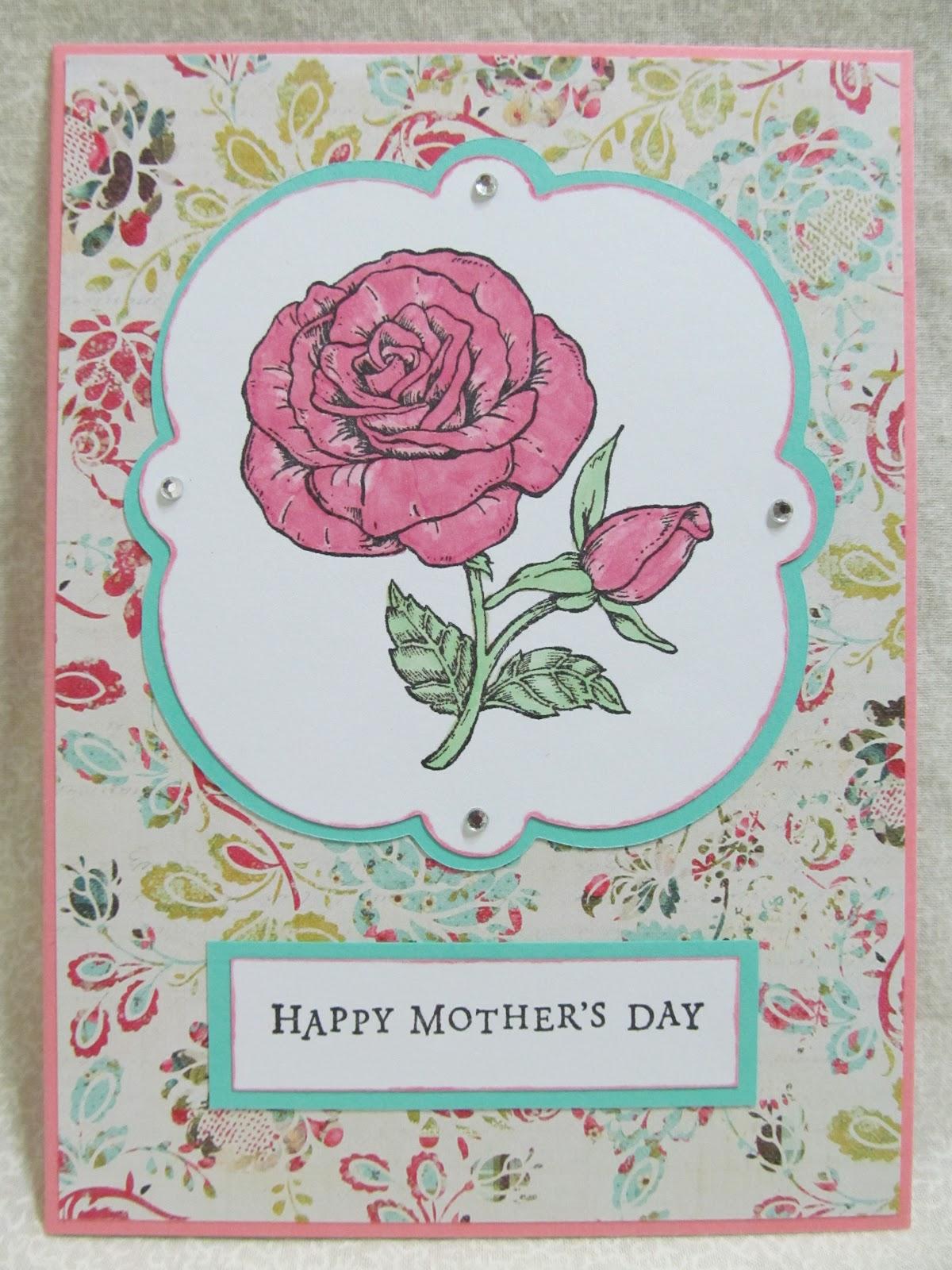 Savvy Handmade Cards Handmade Mother 39 S Day Card