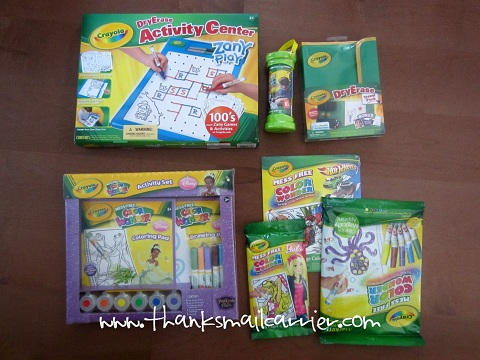 Crayola travel products