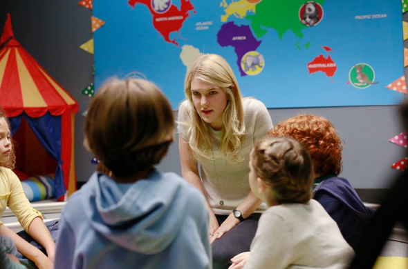 """(Credit: ABC) Claire Bennigan, played by Lily Rabe, in a still from the first episodes of the show """"The Whispers"""" season 1.  Read more: http://www.vcpost.com/articles/77531/20150706/the-whispers-update-season-2-happening-as-casts-contract-options-expire-series-viewers.htm#ixzz3f9sDJ5rh"""