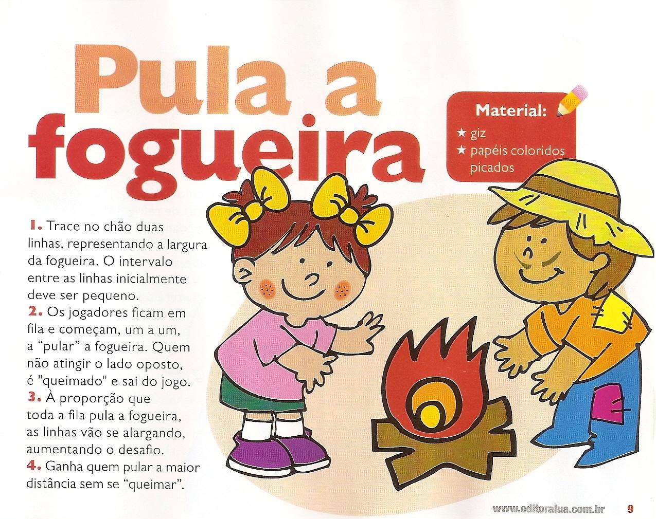 Super Falando da educação: Brincadeiras para festa junina PF01