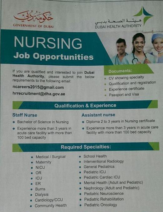 NursesVacancy.com: Nurses to Dubai