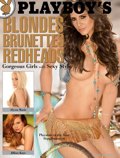 Playboy Magazine Blondes