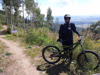 mountain bike, Lisa Gifford Mueller, Steamboat Springs, Colorado, downhill mountain biking, Lisa Mueller