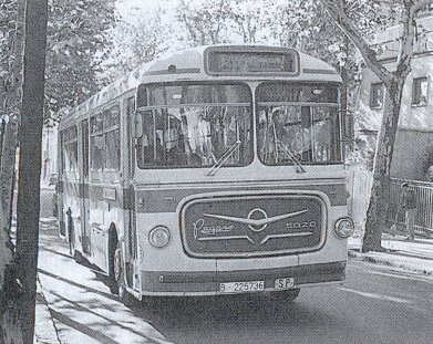 """el tranvía 48: historia del autobús """"casas"""" horta-av.tibidabo"""" (iii"""