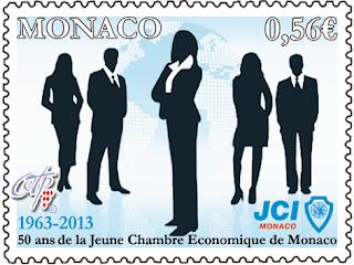50th ANNIVERSARY OF THE JUNIOR CHAMBER INTERNATIONAL MONACO