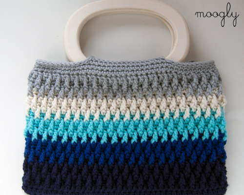 Handles For Crochet Bags : Chroma Crochet Bag from Moogly