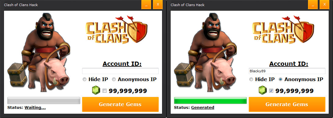 Clash of Clans cheats for iPhone 3GS, iPhone 4, iPhone 4S, iPhone 5