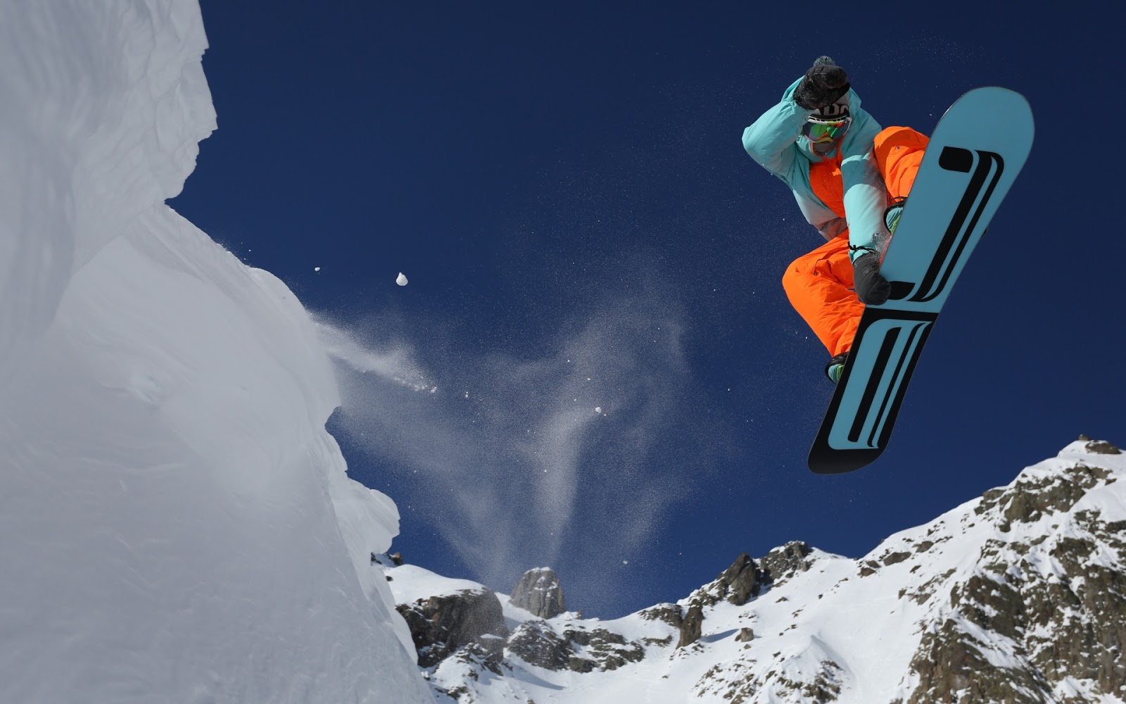 extreme snowboarding wallpapers - photo #3