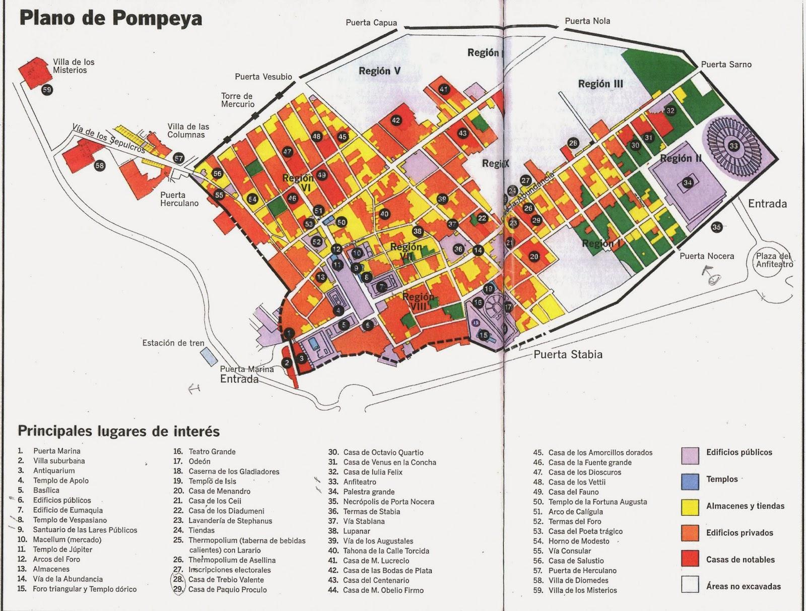viajar a pompeya 2014 planos de pompeya On plano de pompeya