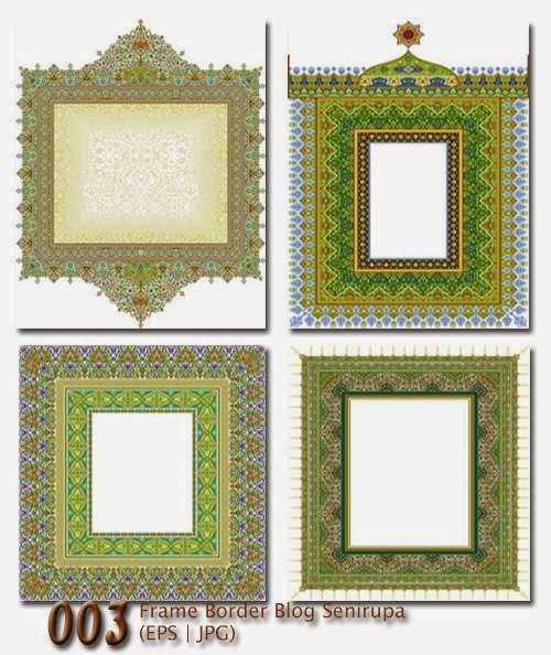 Frame Border Blog Senirupa 003 Download