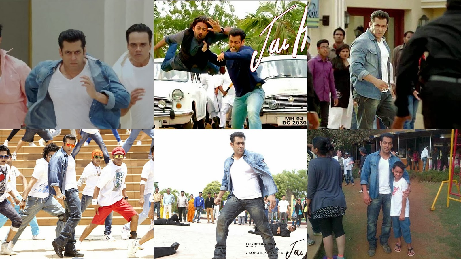 Salman Khan shooting for Jai Ho movie