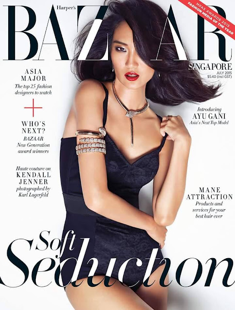 Model @ Ayu Gani - Harper's Bazaar Singapore, July 2015