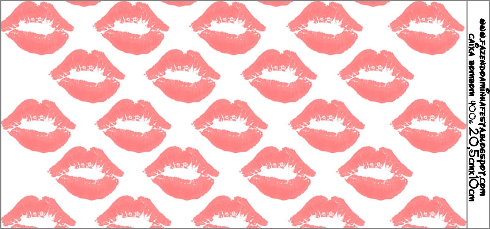 Fundo beijos kit completo com molduras para convites - Papeles para decorar ...