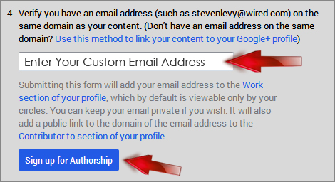 add google plus authorship in blogger