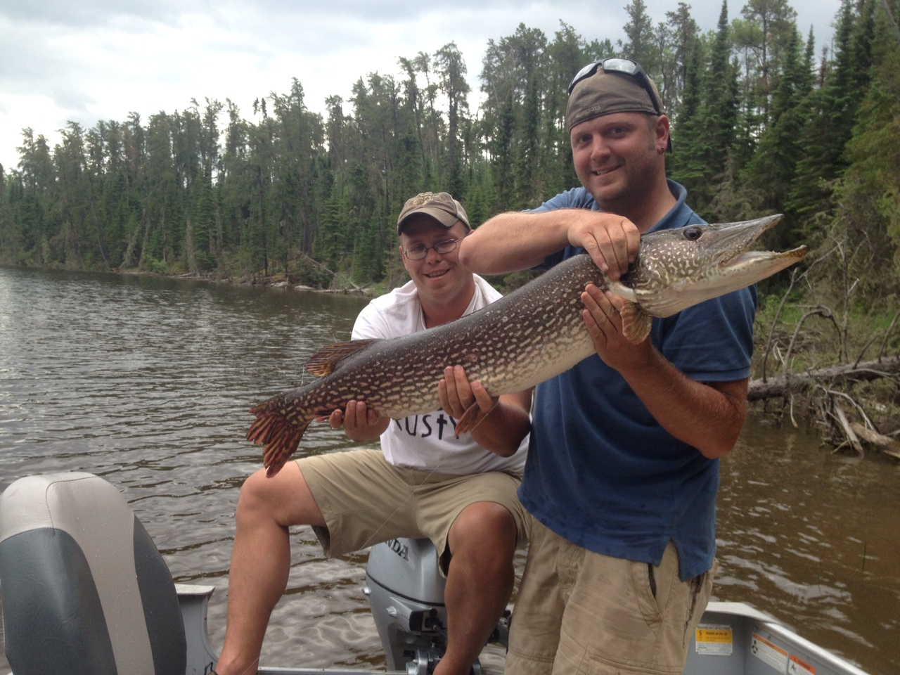 Eagle falls lodge end of june fishing report for red lake for June lake fishing report