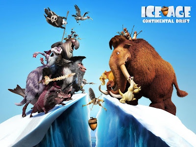 Ice Age:Continental Drift PowerPoint Background