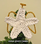 Star Angel Crocheted Ornament on Etsy