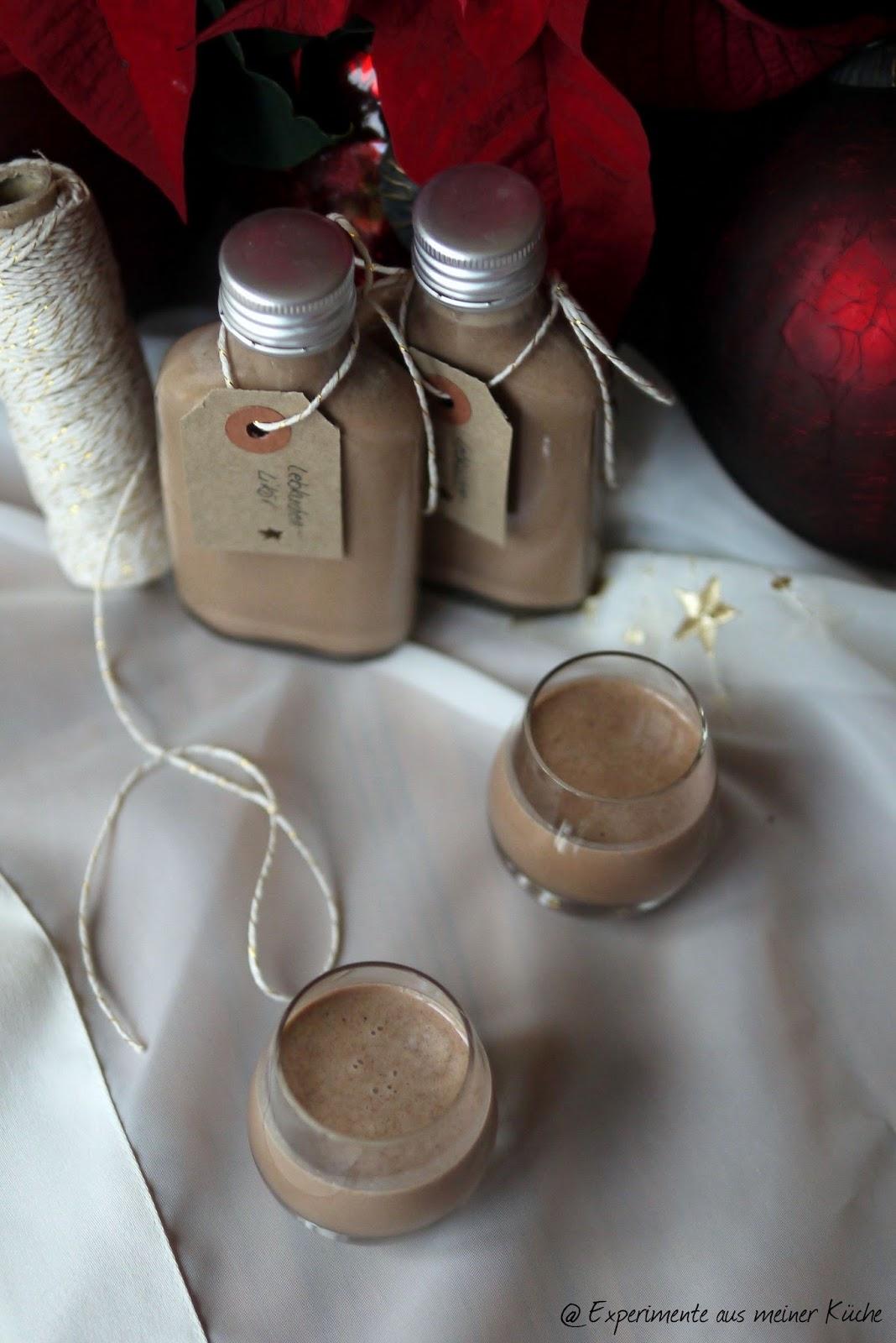 Experimente aus der Küche: Lebkuchenlikör