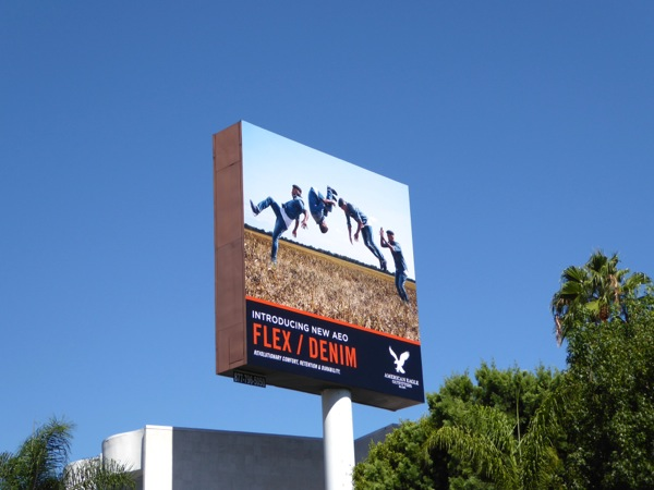 American Eagle Outfitters Flex Denim billboard