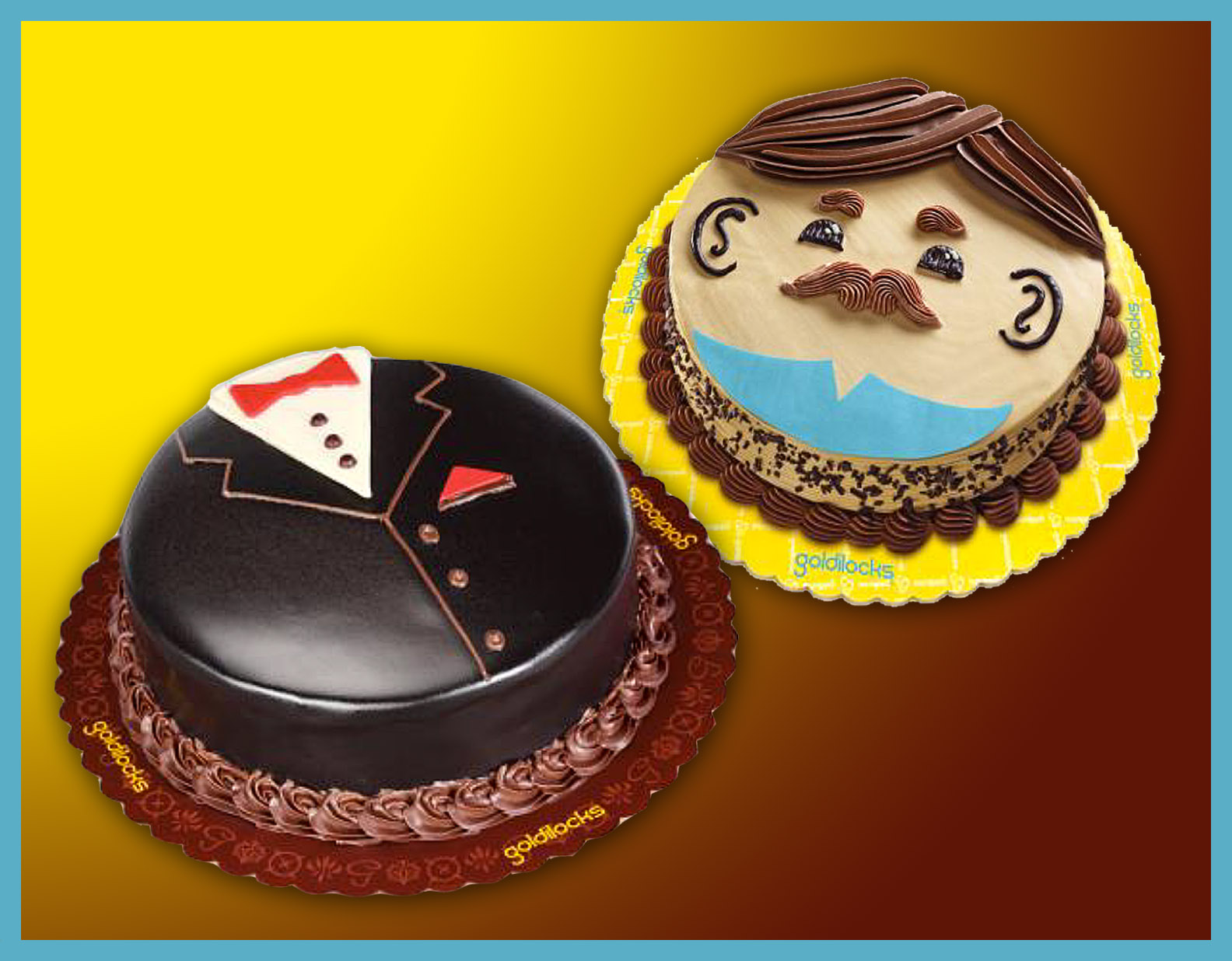 Goldilocks celebrates fathers day with special sweet treat