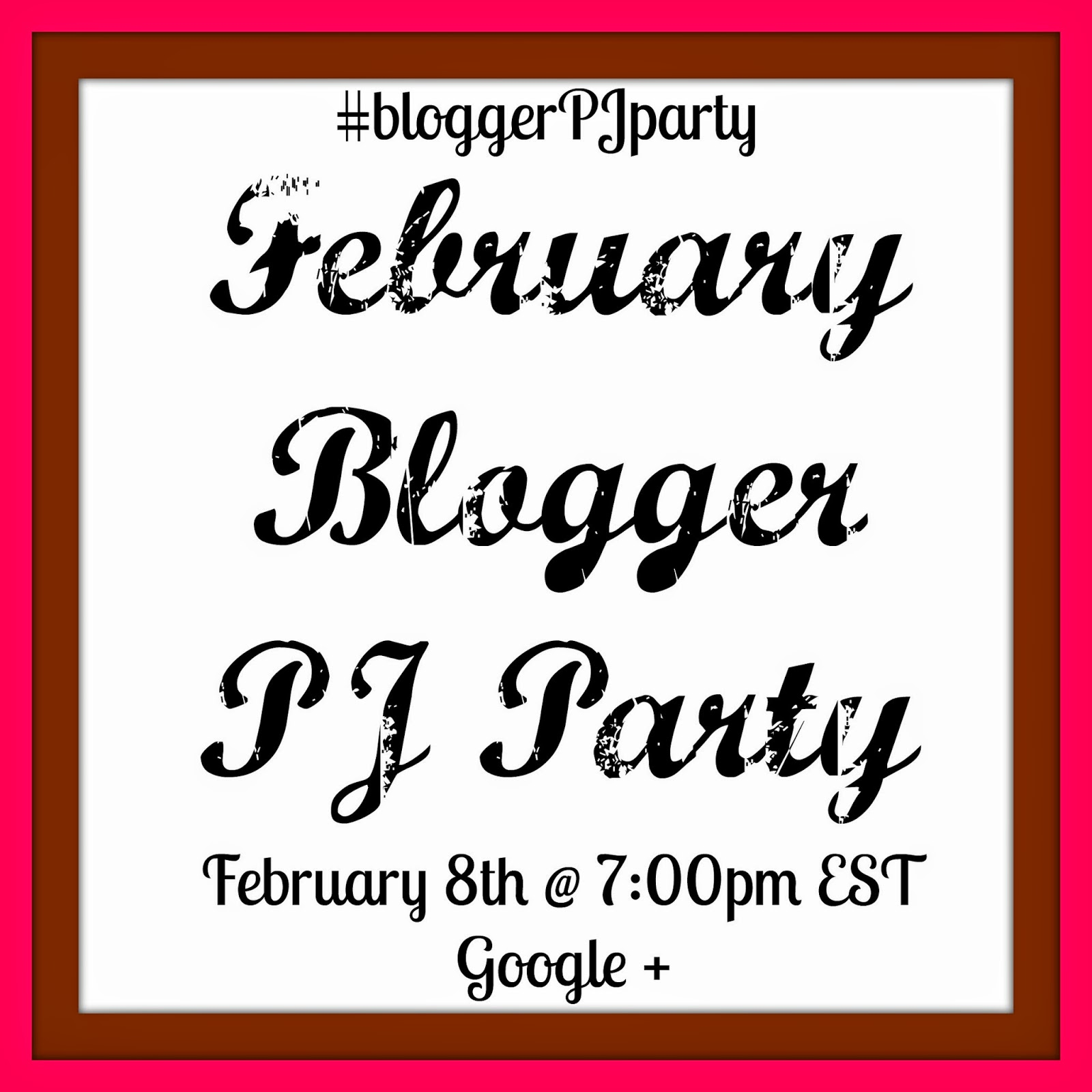 February #bloggerPJparty