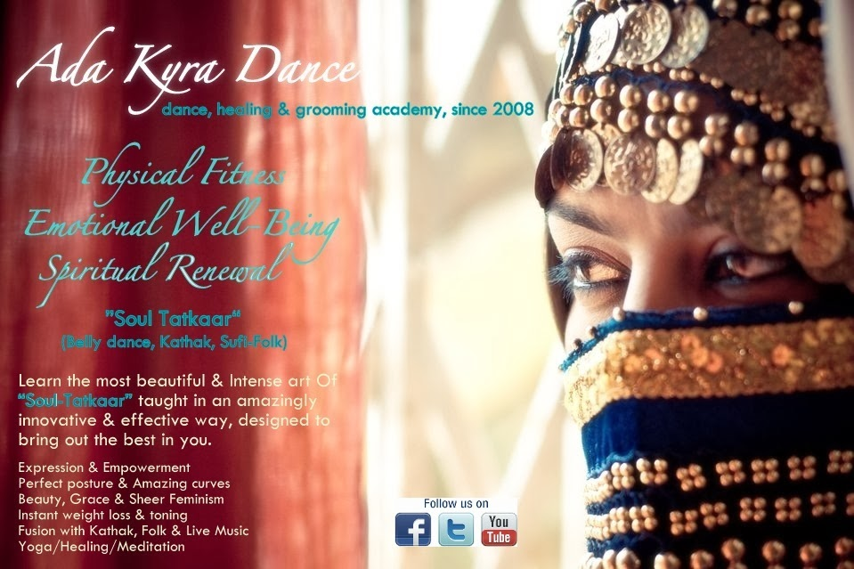 "Ada Kyra Dance (Perform ""Soul Tatkaar"" -Holistic Belly dance classes in Mumbai, Bandra W, Andheri W)"