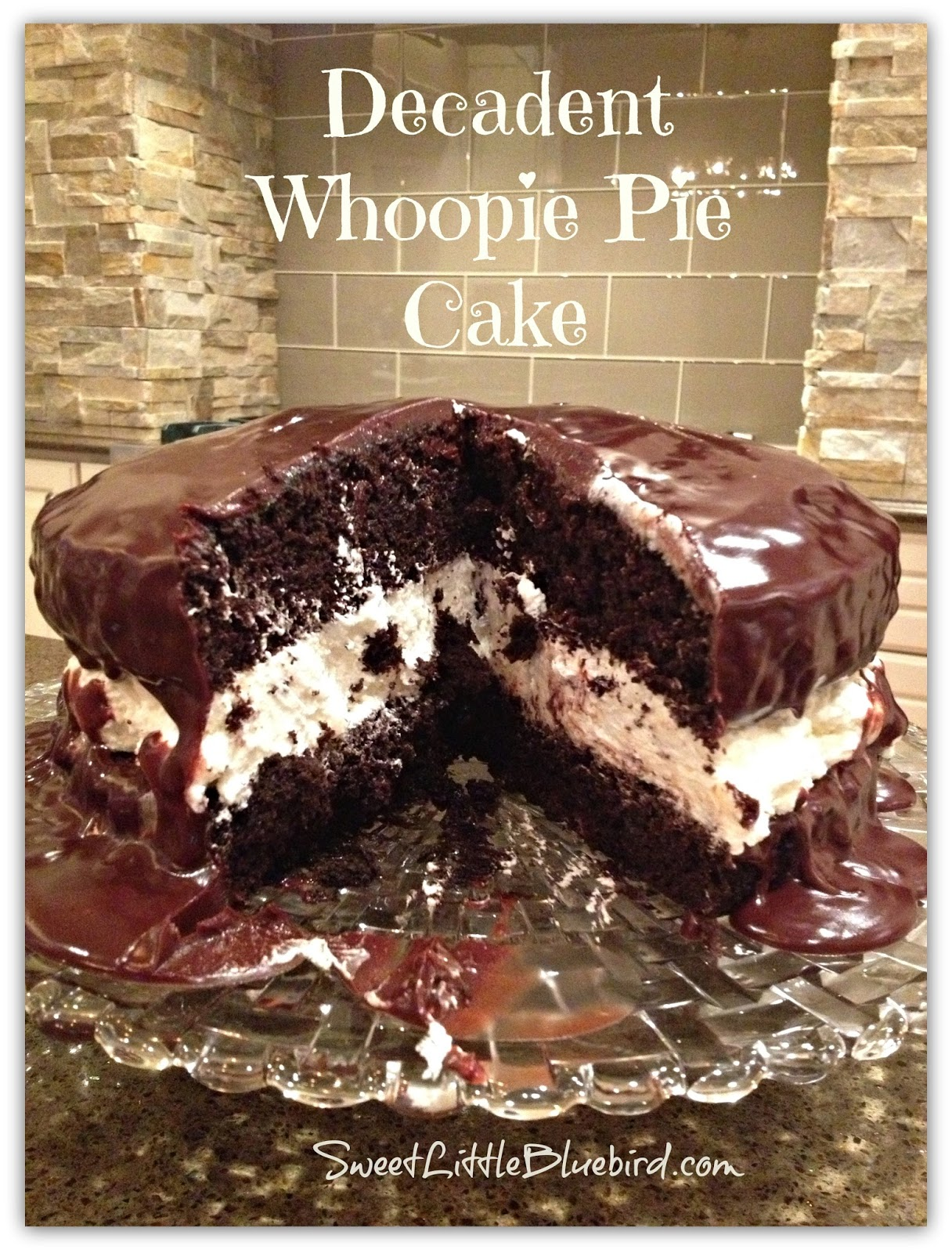 This Cake Is Decadent Delicious And Oh So Good A Go To Family Recipe For Birthdays Dinner Parties Holidays Pinnable Image WHOOPIE PIE