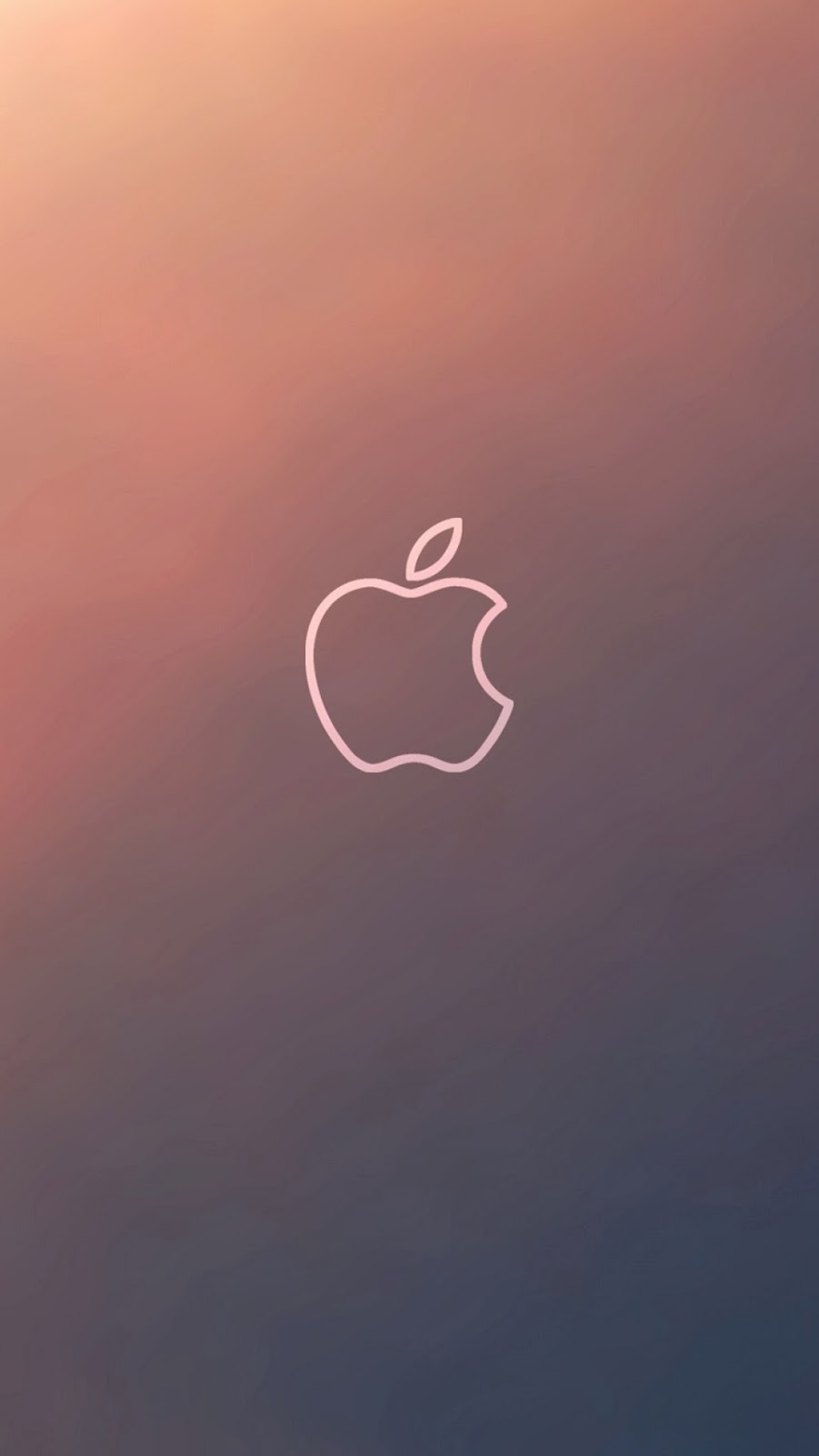 iPhone 6s Simple Apple Logo Wallpaper