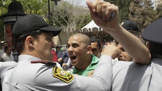 Azerbaijan Baku clashes