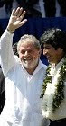 Lula da Silva & Evo Morales.