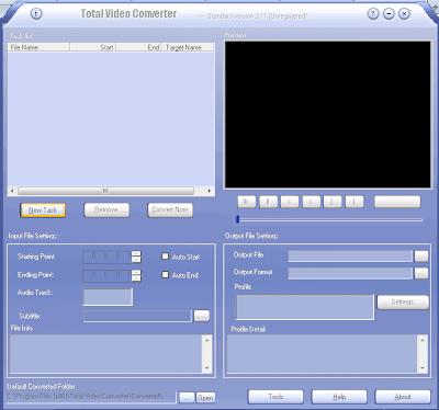 Total Video Converter Software