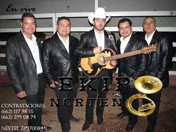 Ekipo Norteño En Vivo Disco 2013