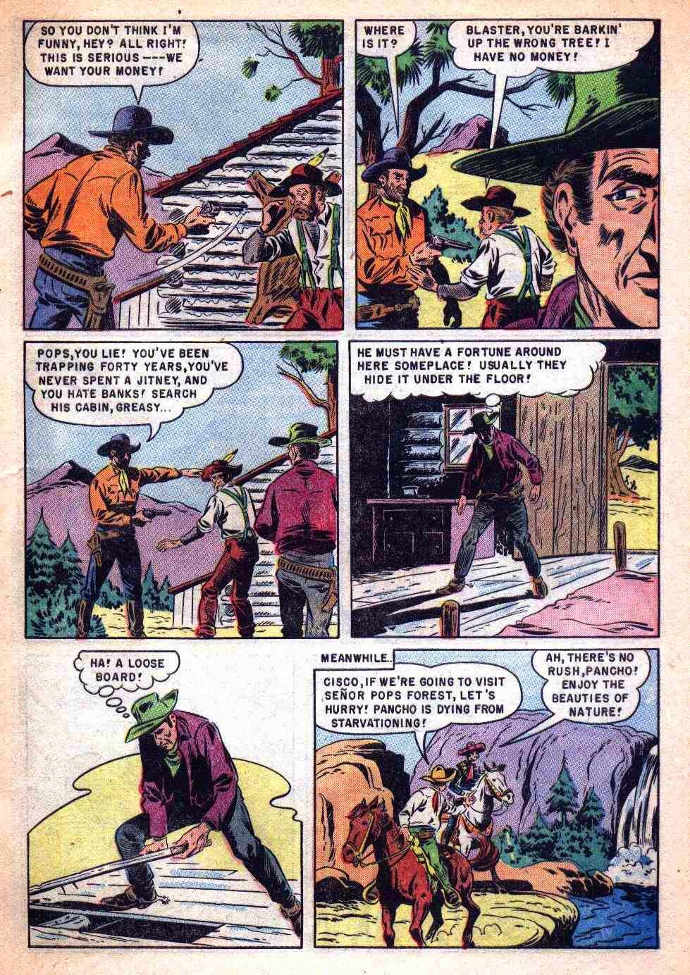 From The Cisco Kid 27 May June 1955