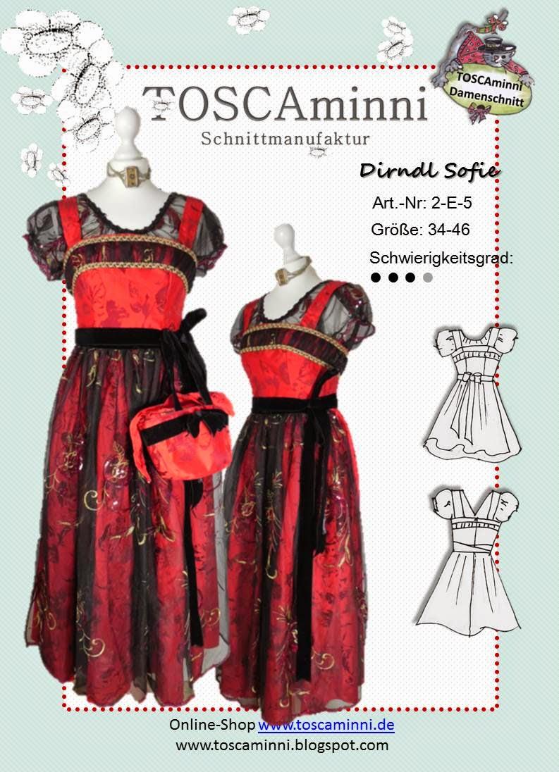 Schnittmuster Damenkleid (E-Book)